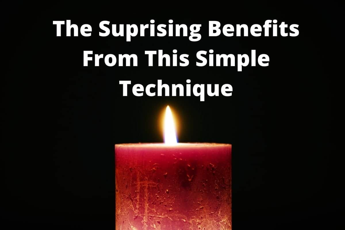 The Suprising Benefits From This Simple Technique - candle meditation